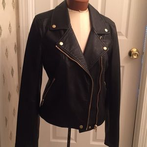 Gorgeous Faux Leather Jacket!